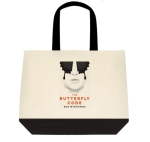 Butterfly Code tote