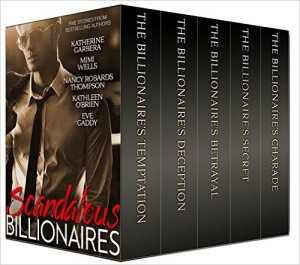 Scandalous Billionaires cover - 3D