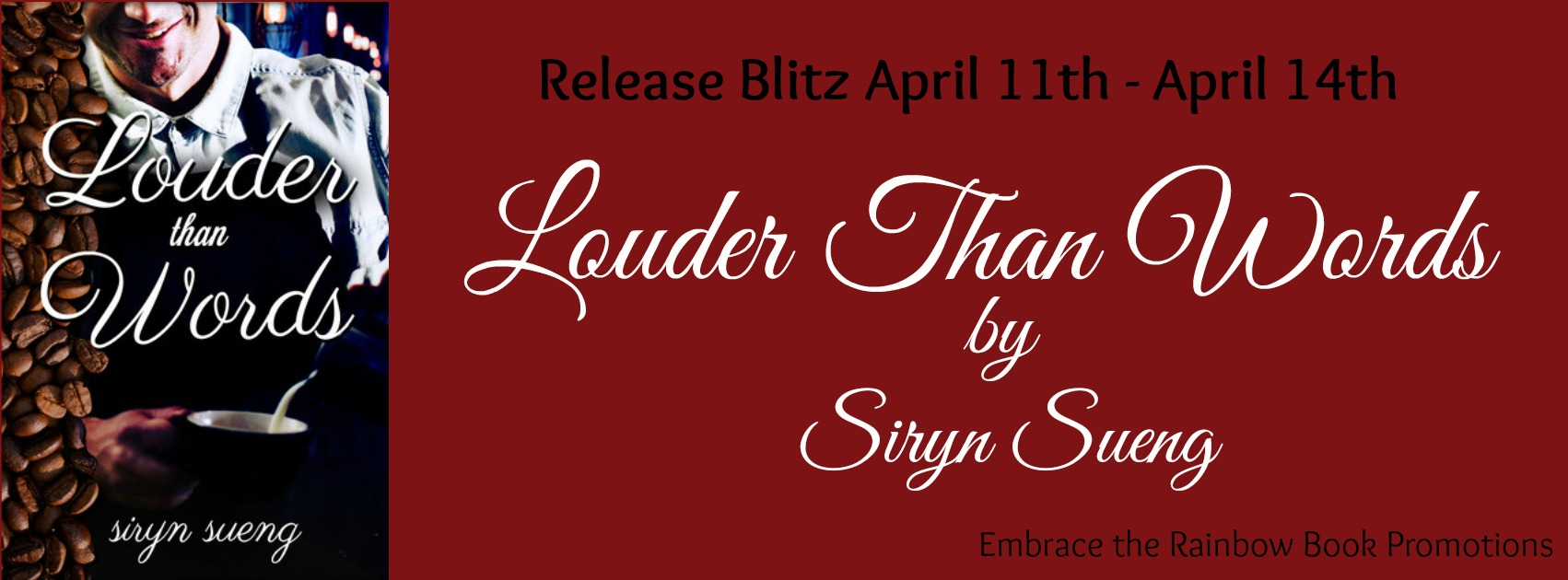 Blog Tour: Exclusive Excerpt & Giveaway Siryn Sueng - Louder Than Words