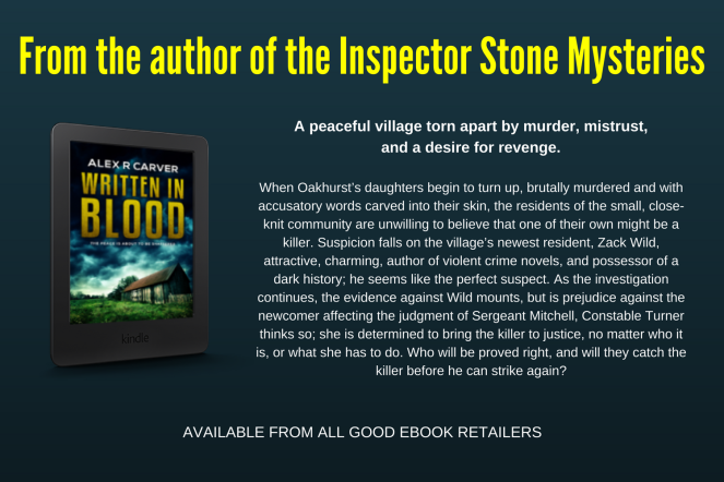 From the author of the Inspector Stone Mysteries