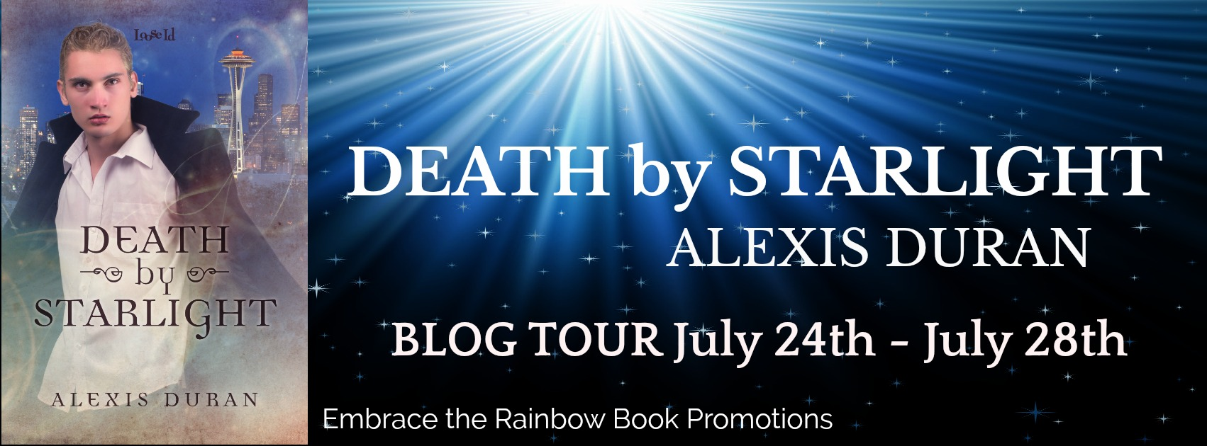 Blog Tour: Guestpost, Excerpt & Giveaway -- Alexis Duran - Death by Starlight