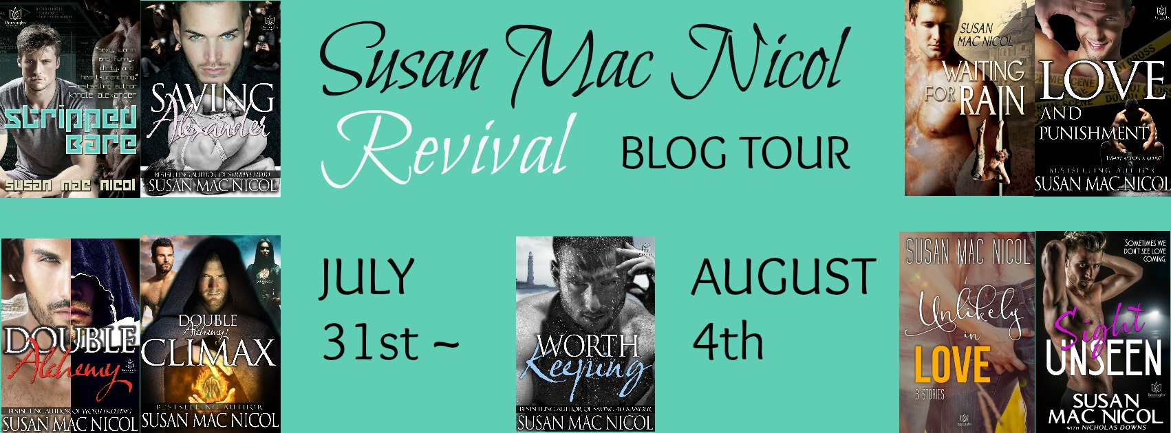 Revival Blog Tour: Exclusive Excerpt & Giveaway -- Susan Mac Nicol - Love and Punishment