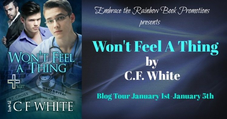 Won't feel a thing banner