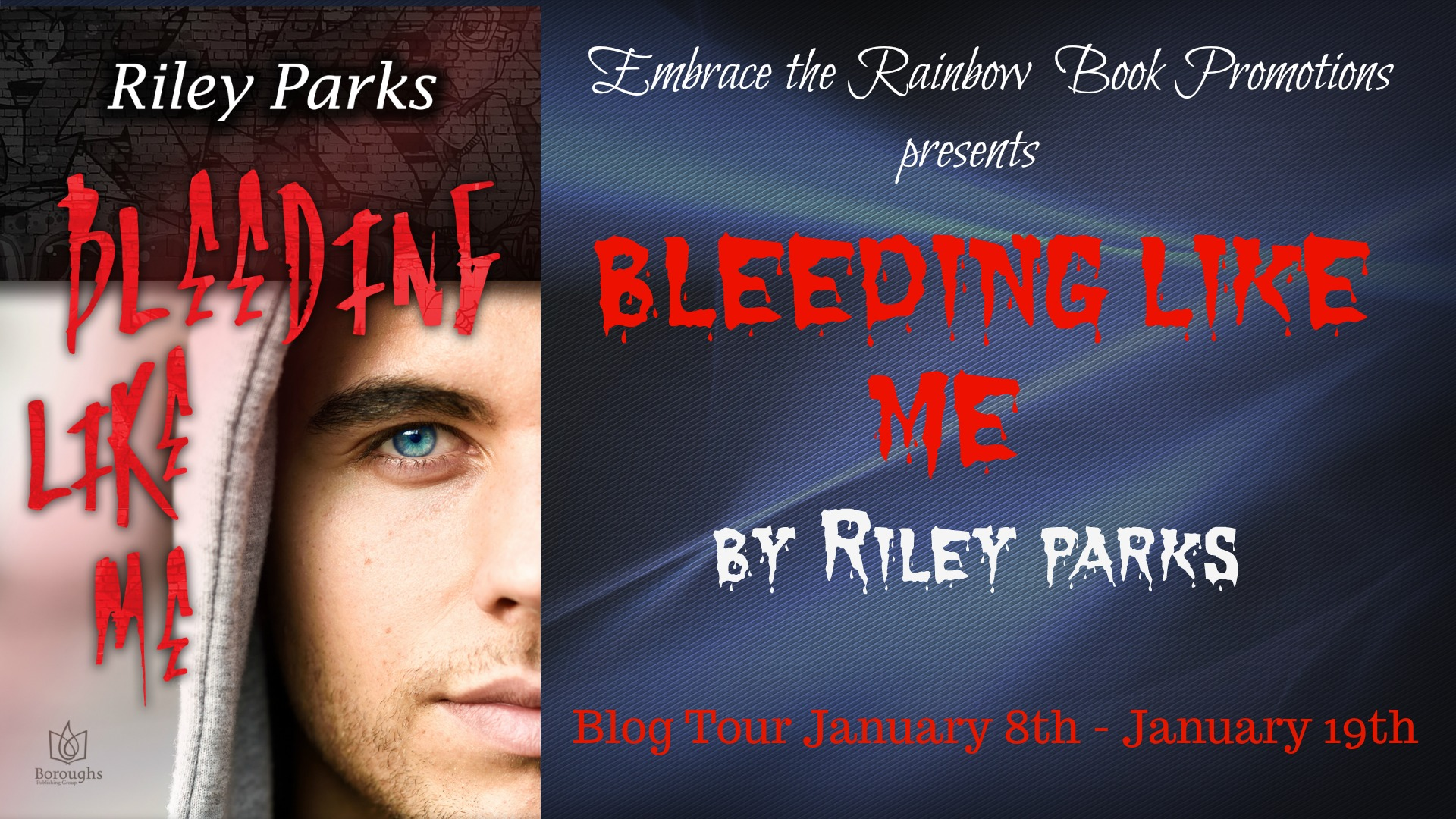 Blog Tour:  Character Interview, Excerpt & Giveaway -- Riley Parks - Bleeding Like Me